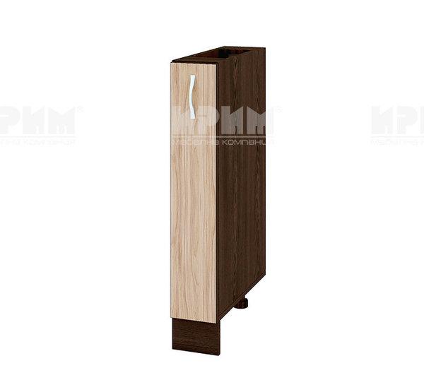 Шкаф за долен ред - бутилиера 15 см - ВА-41